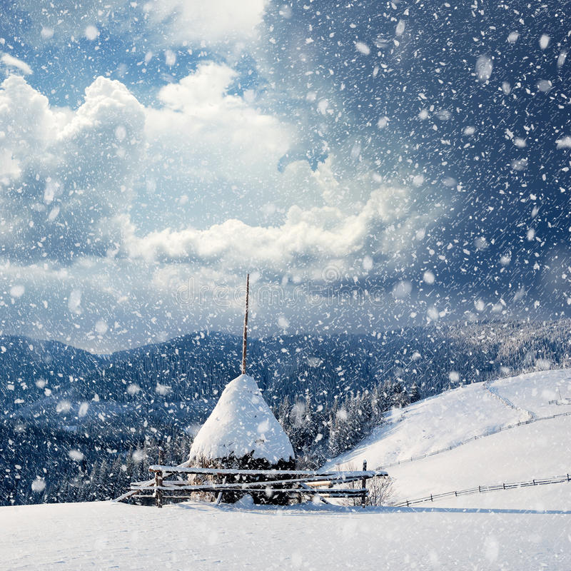 Free Winter Landscape Royalty Free Stock Photography - 21940357