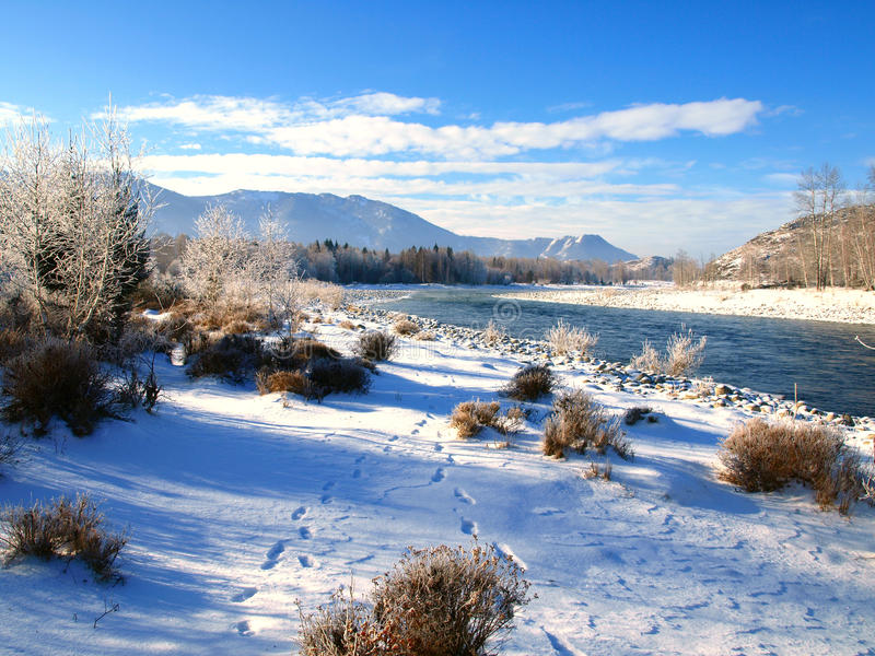 Download Winter landscape stock photo. Image of cool, background - 22133120