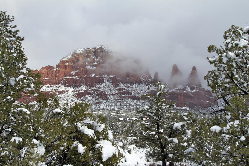 Download Winter Landscape stock image. Image of outdoors, sedona - 24138305