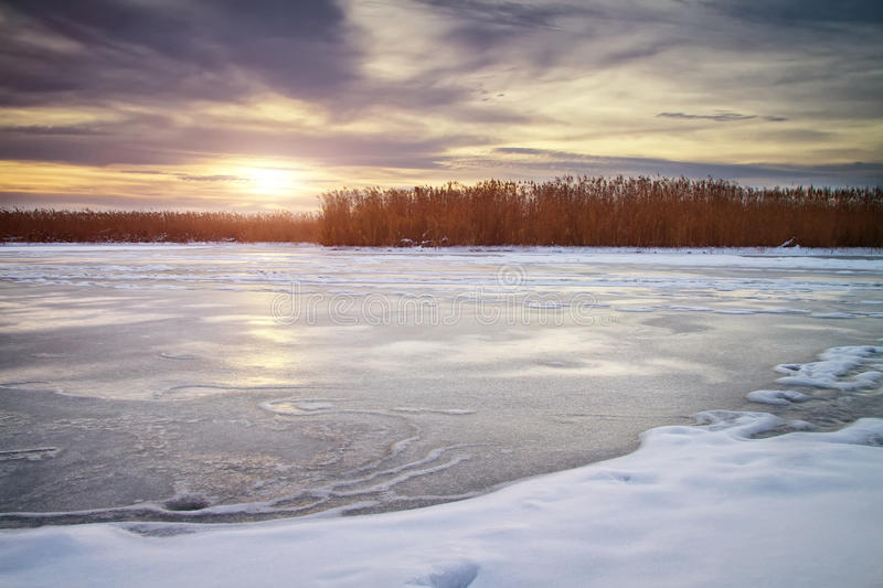 Download Winter landscape stock image. Image of january, frost - 28464853