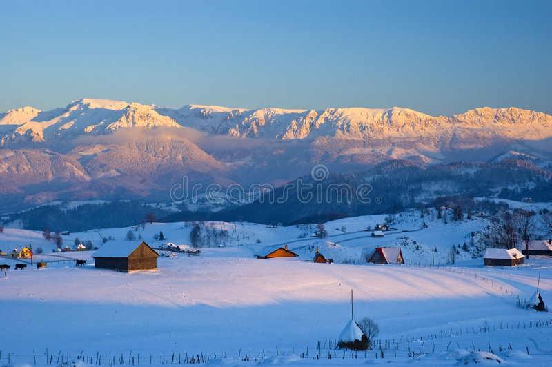 Download Winter landscape stock photo. Image of relaxation, mountains - 7960934