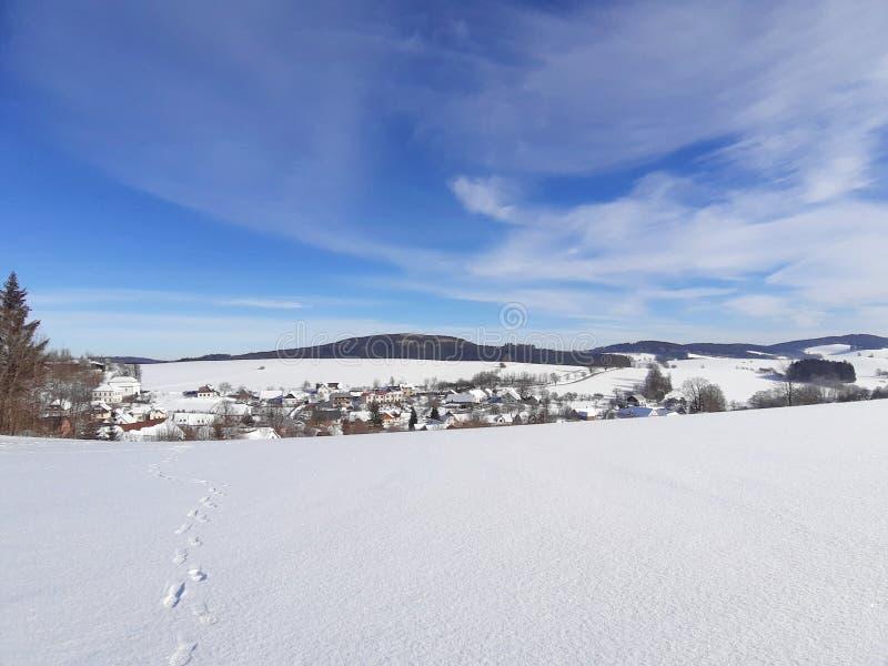 Winter lamdscape stock images