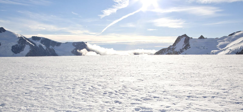 Winter landscape Panorama royalty free stock image