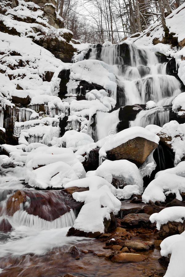 Download Winter Landscape With The River Stock Image - Image: 28369281
