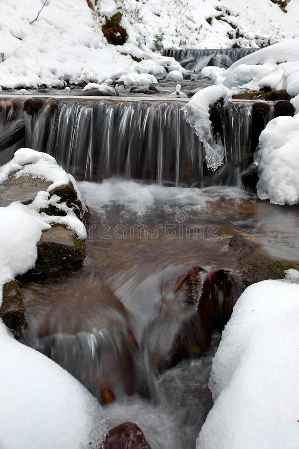 Download Winter Landscape With The River Stock Photo - Image: 28627404