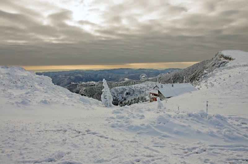 Download Winter Landscape With Shelter Stock Image - Image: 29092863