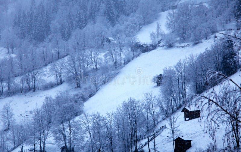 Winter landscape in Tirol, Austria royalty free stock photos