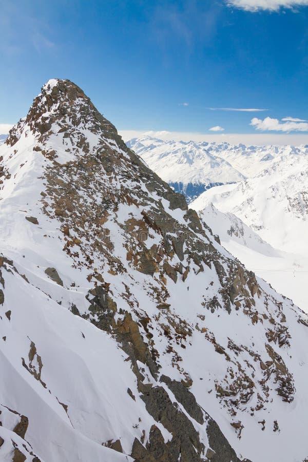 Winter landscape in Tirol royalty free stock image