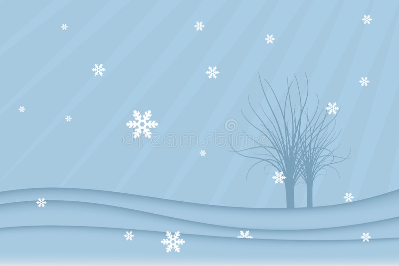 Download Winter landscape (vector) stock vector. Illustration of snowing - 2850460