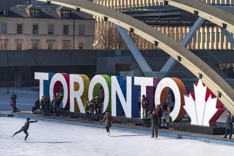 Winter Lifestyle Toronto 3D Sign At Nathan Phillips Square, Cana Editorial  Image - Image of lifestyle, ontario: 85338215