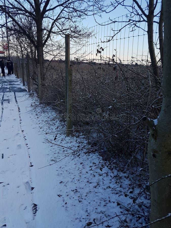 Winter in london stock photos