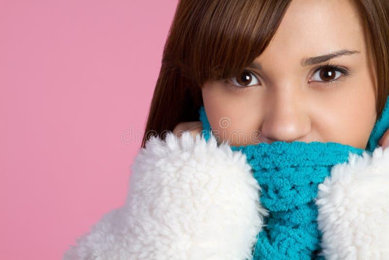 Winter-Mädchen lizenzfreie stockfotografie