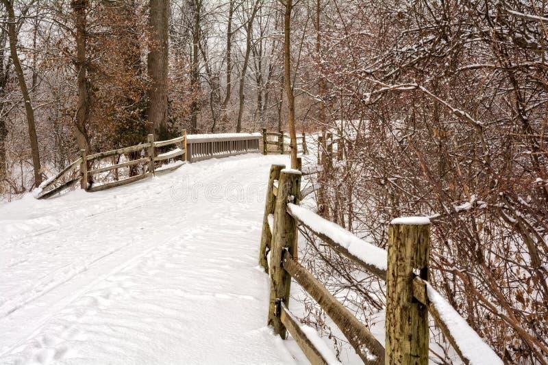 Winter-Märchenland stockfotografie