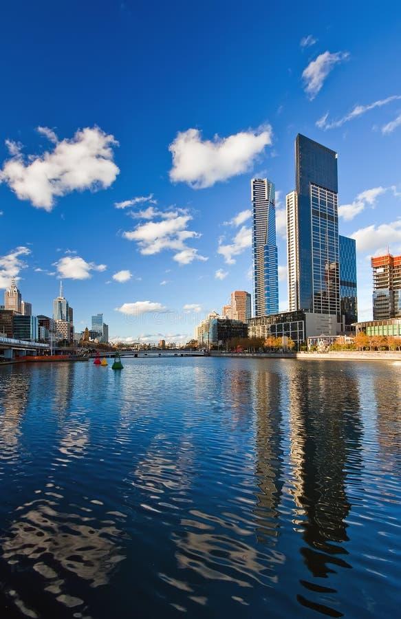 Winter in Melbourne stockbild