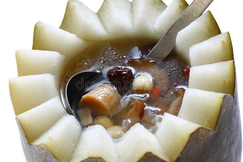 Winter melon soup stock images