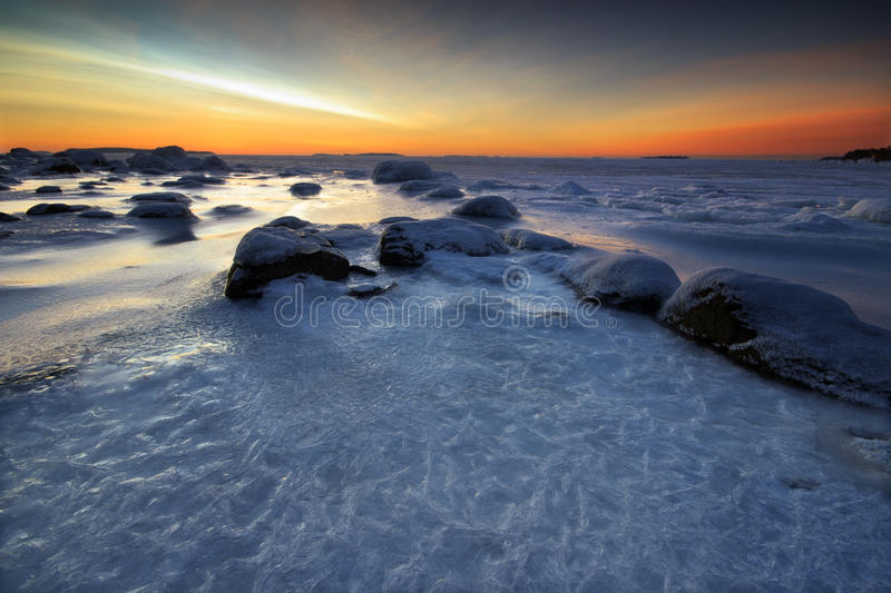 Download Winter morning landscape stock photo. Image of frost - 28531732