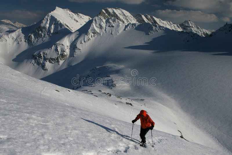 Download Winter mountain climbing stock photo. Image of summer - 9178238
