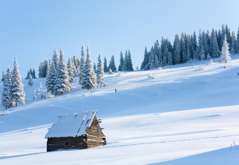 Download Winter mountain landscape stock photo. Image of tree - 13937506