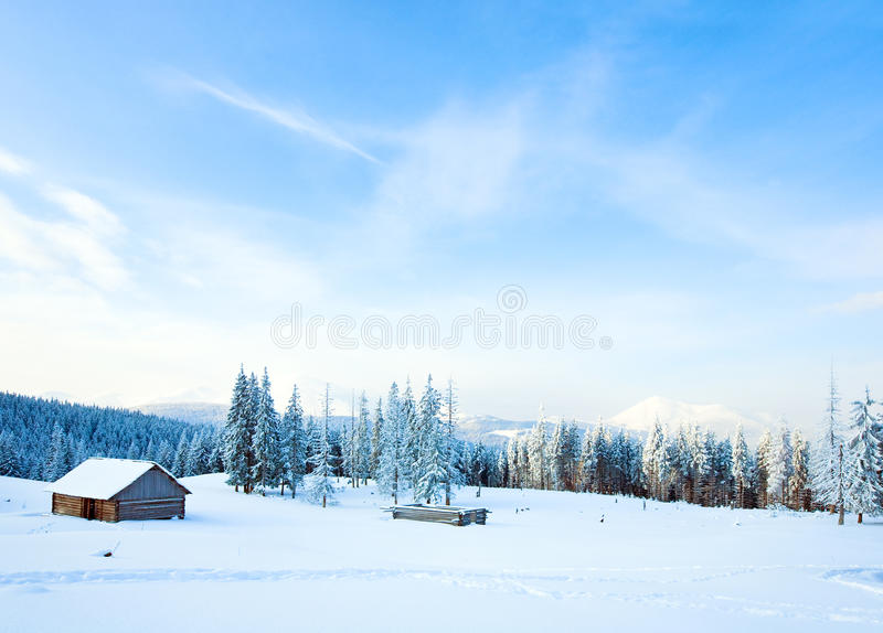 Download Winter mountain landscape stock photo. Image of beautiful - 14137080