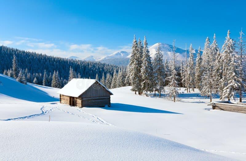 Download Winter mountain landscape stock image. Image of ridge - 14305181