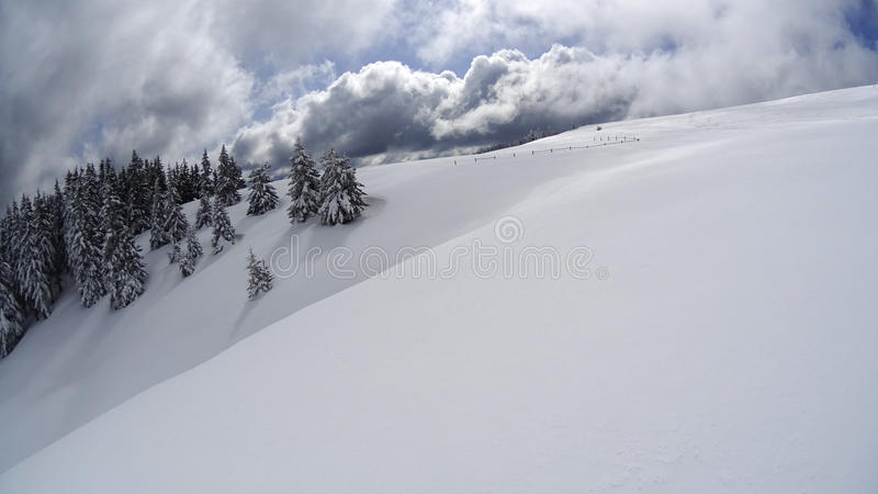 Winter Mountain stock photos