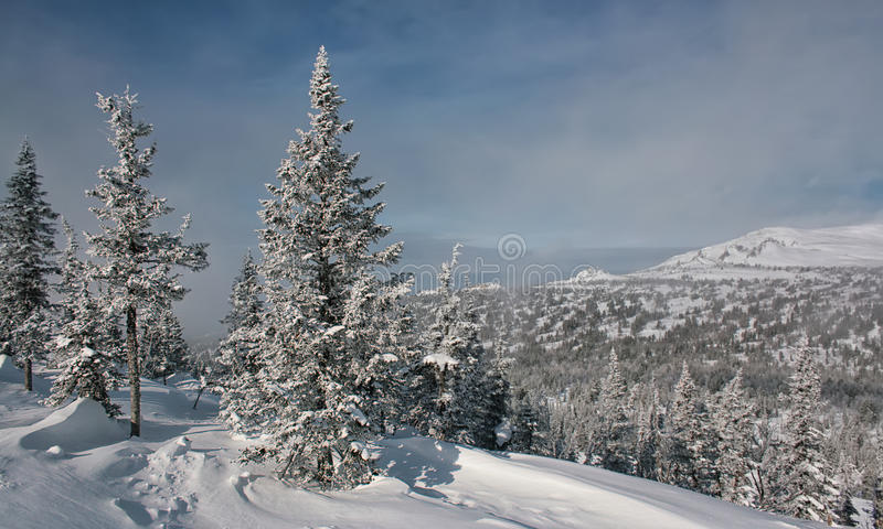 Download Winter In The Mountains #006 Stock Image - Image: 28280839