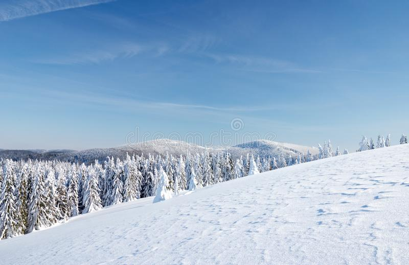 Download Winter in the mountains stock image. Image of nature - 23294287