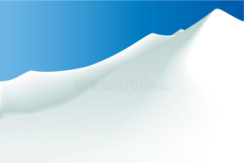 Download Winter mountains stock vector. Image of snowboard, sunshine - 28545098