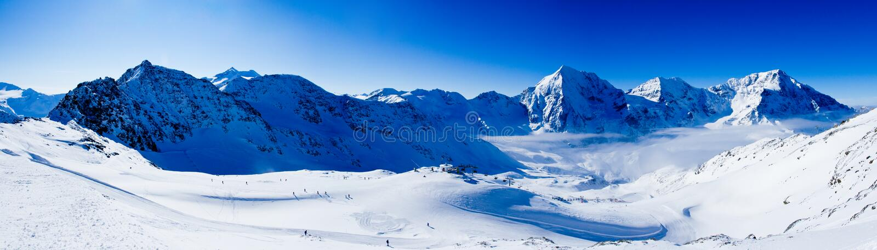 Download Winter mountains, panorama stock image. Image of resort - 27045351