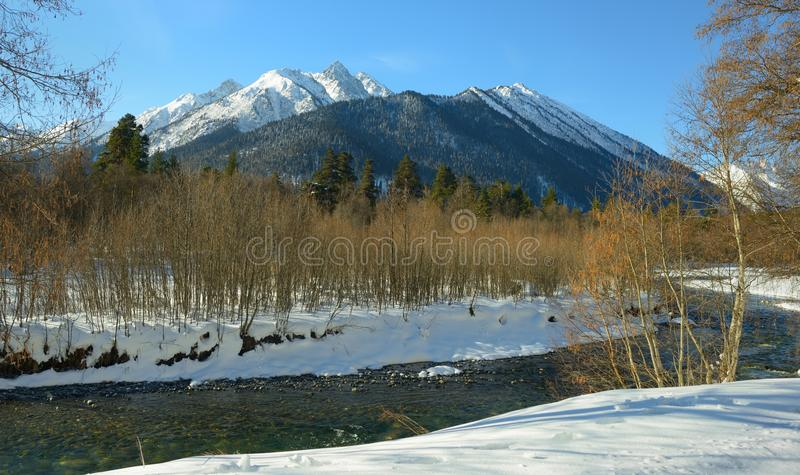 Download Winter mountains stock image. Image of reflection, life - 39513717
