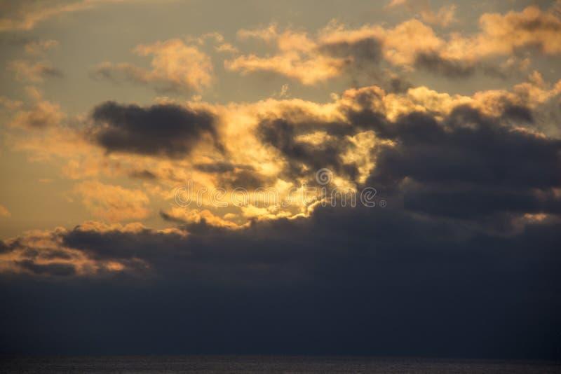 Winter sunrise snow baltic beach, latvia, saulkrasti stock image