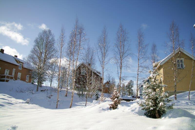 Download Winter neighborhood stock image. Image of architecture - 13437209