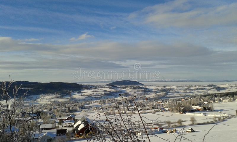 Winter in Norway royalty free stock photo
