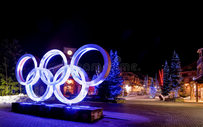 Winter Olympics Editorial Stock Image