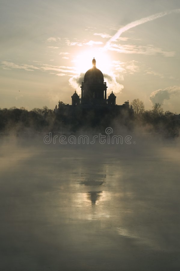 Free Winter On Niva River Royalty Free Stock Images - 493379