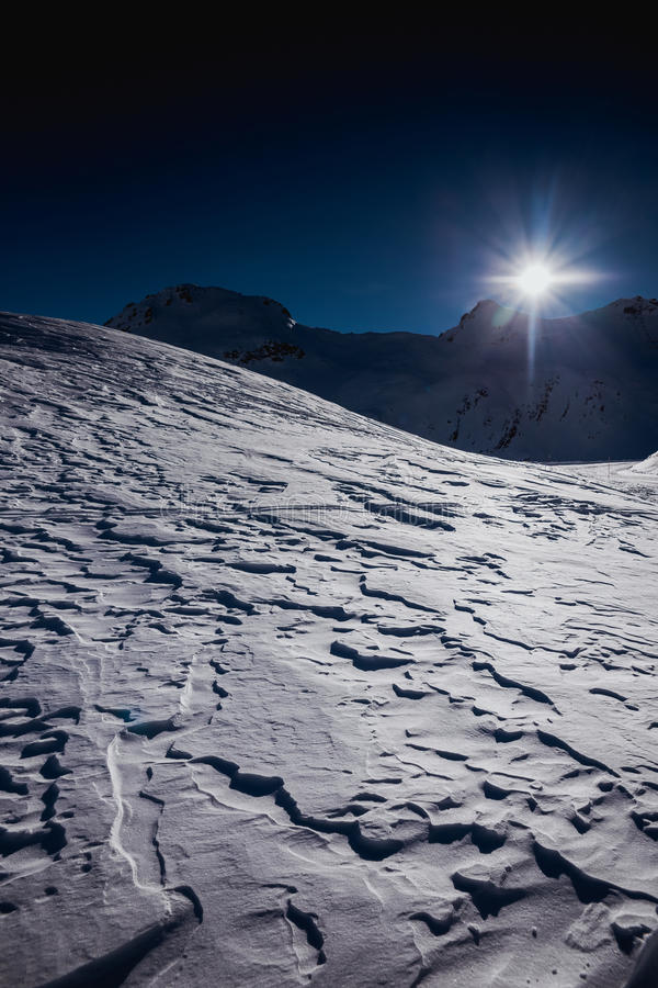 Free Winter On The Glacier Stock Photography - 48966452