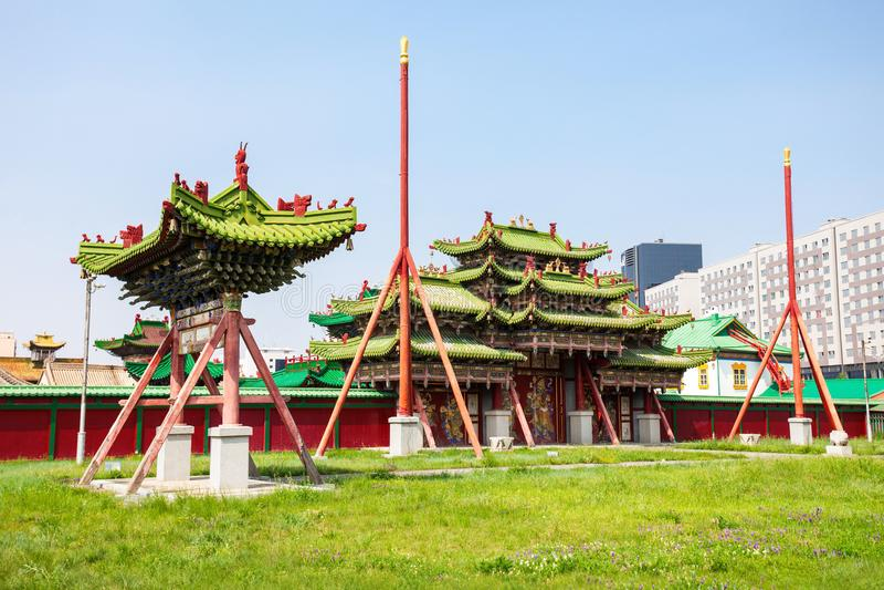 Bogd Khan Winter Palace stock photo