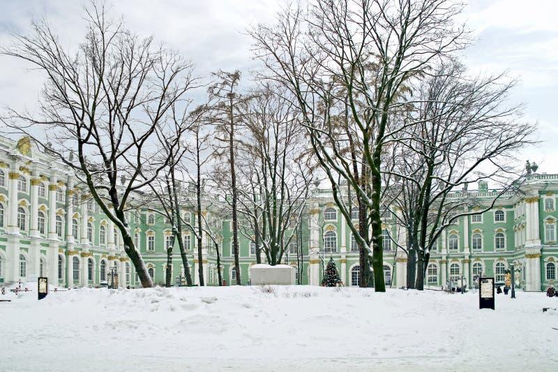 Winter Palace. Courtyard Stock Photo