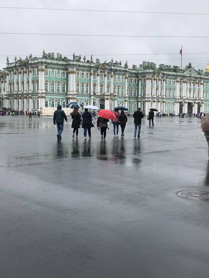 The winter palace stock photo