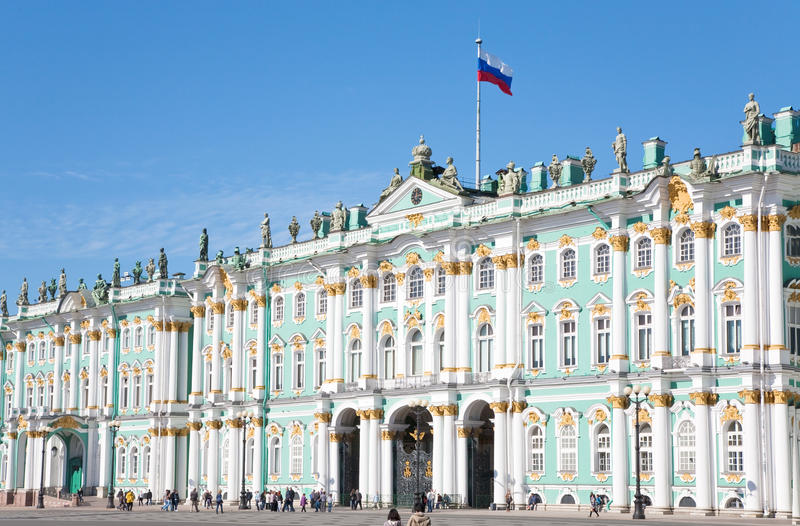 Download Winter Palace, St.Petersburg, Russia Editorial Stock Photo - Image: 21481198