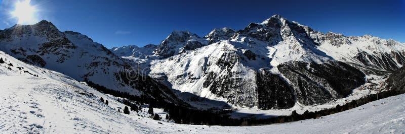 Winter panorama royalty free stock photography