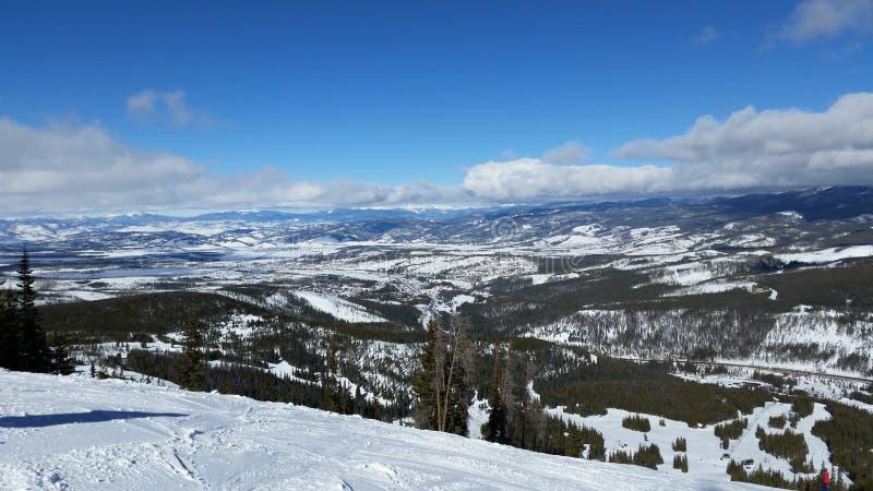 Winter-Park Colorado lizenzfreies stockbild