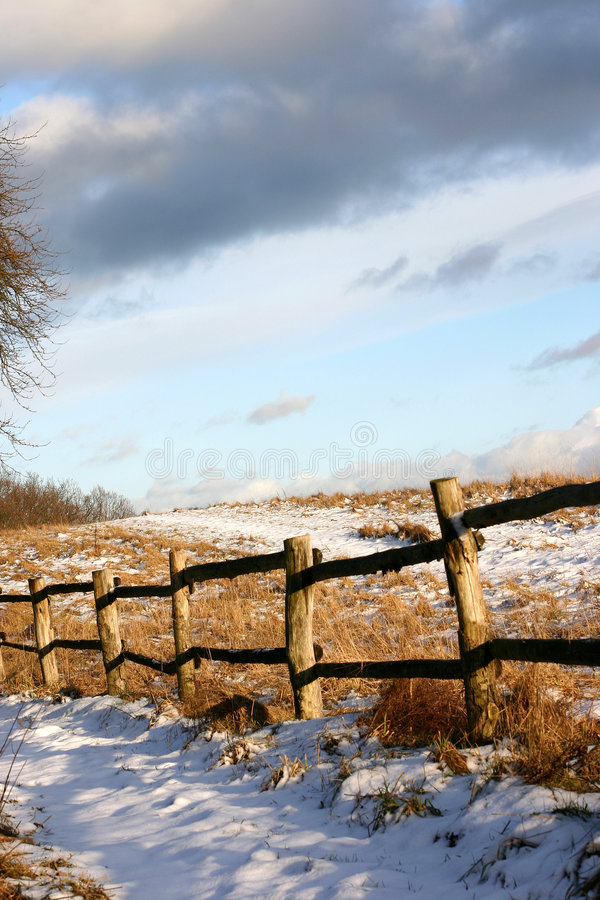 Free Winter Path Stock Image - 827331