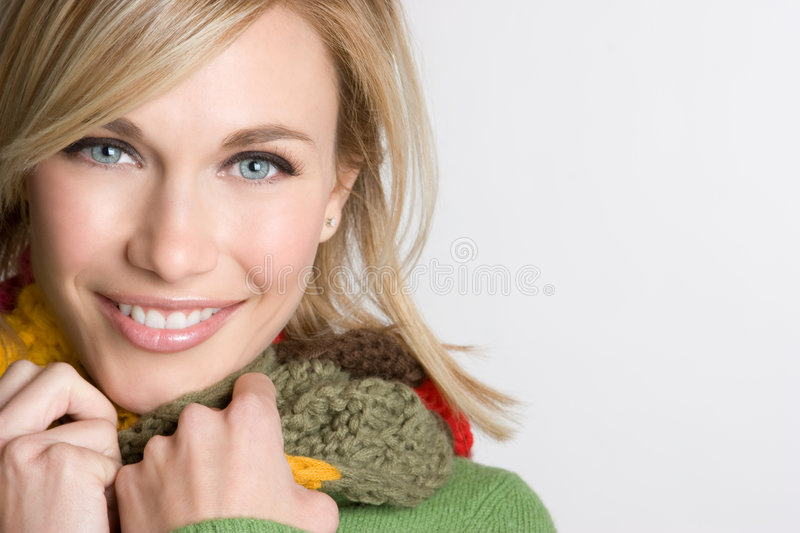 Winter Person royalty free stock photo