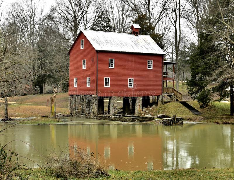 York Gristmill royalty free stock photo