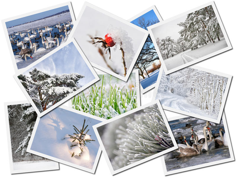 Winter Pictures Stock Photo