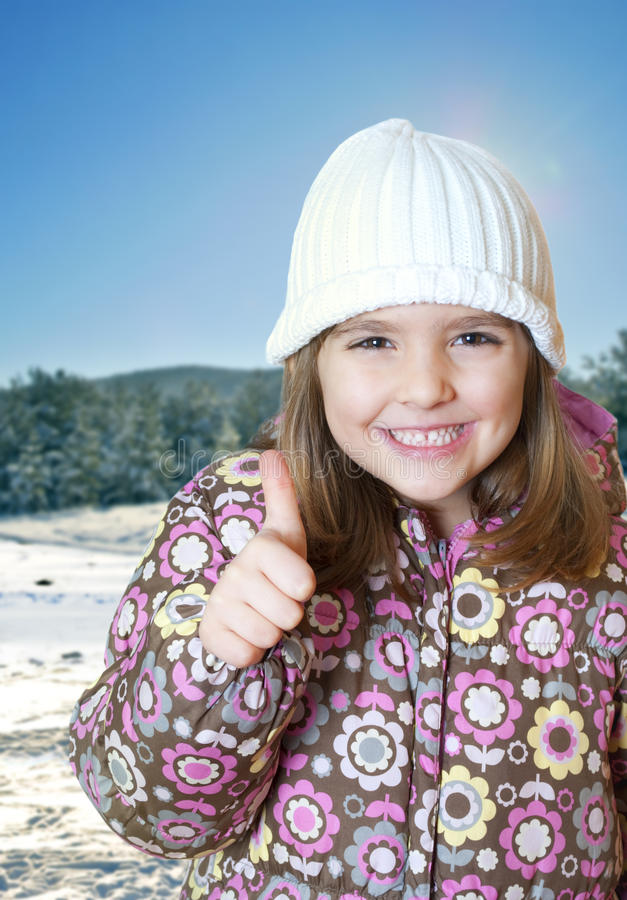 Download Winter play stock image. Image of portrait, jacket, person - 17994585