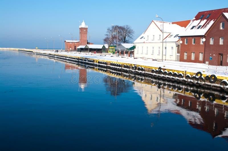 Download Winter Port Stock Image - Image: 12573421