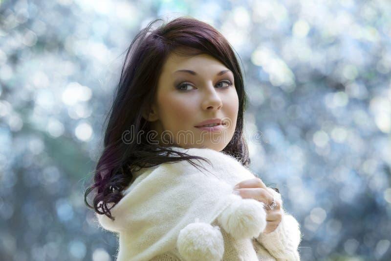 Winter portrait royalty free stock image