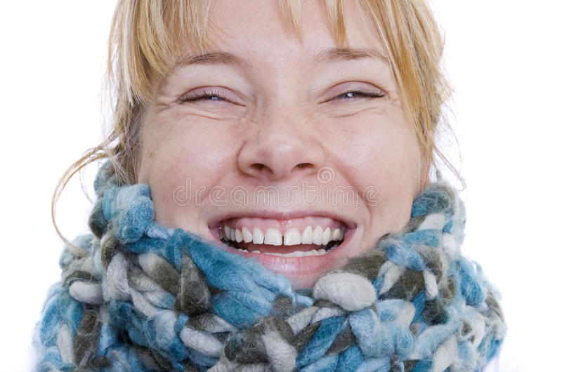 Download Winter Portrait stock image. Image of white, green, background - 12651931